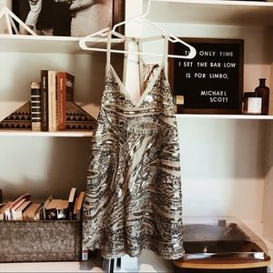 NBD Silver Linings Sequin Dress